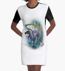 Animales-050 Graphic T-Shirt Dress