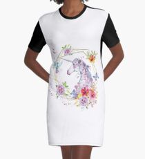 Animales-048 Graphic T-Shirt Dress