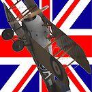 Union Jack  + Sopwith Snipe E8050 Design by muz2142