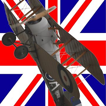 Union Jack  + Sopwith Snipe E8050 Design by muz2142