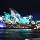 Vivid Festival 2018- Opera House Plants & Triangle by muz2142