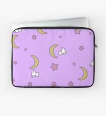 Sailor Moon inspired Bunny of the Moon Bedspread Blanket Print Laptop Sleeve