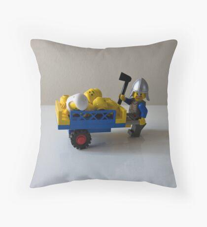 Hi-ho Throw Pillow