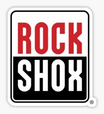 rock shox bike Sticker