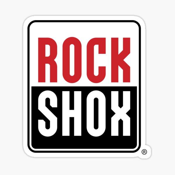 rock shox bike Sticker