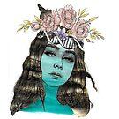 Goddess of Flies by Emjonesdesigns