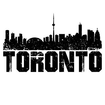 Toronto Skyline Design by botarthedsgnr