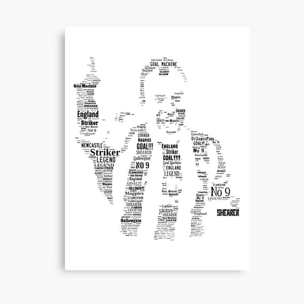 Alan Shearer - Newcastle United Legend Canvas Print