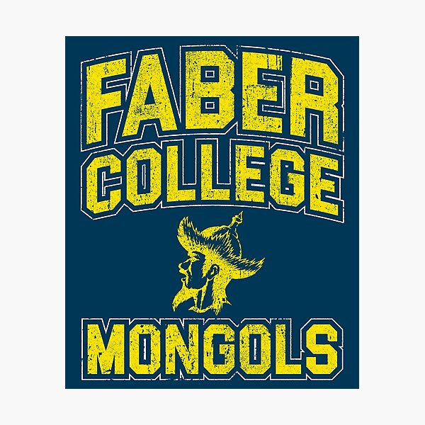 Faber College Mongols Photographic Print