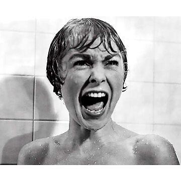 Psycho classic cult film scream shirt by SOpunk
