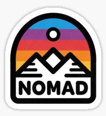 Nomad Mountain Sunrise Sticker