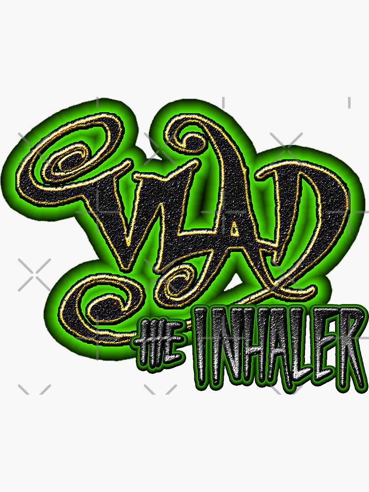 Vlad The Inhaler Band Logo by EnforcerDesigns