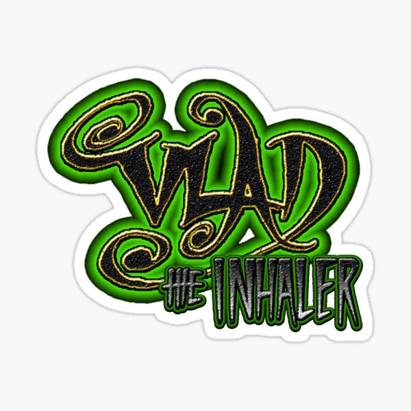Vlad The Inhaler Band Logo Sticker