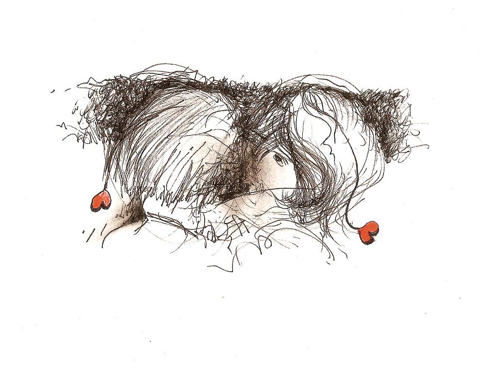 Lovers               2darts,  by Ian Farnbach