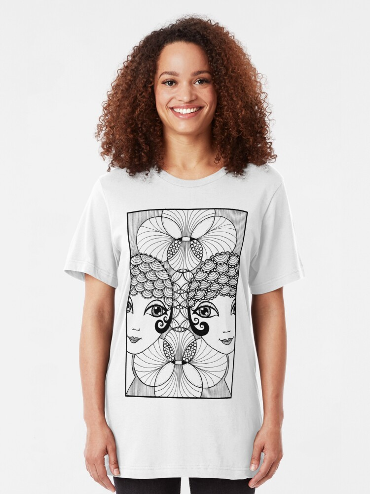 Alternate view of Showgirls Slim Fit T-Shirt
