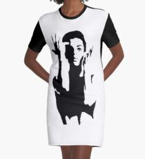 prince is not a symbol Graphic T-Shirt Dress