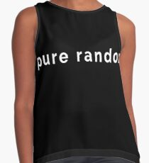 Pure Random - Funny Scottish Saying to Describe Randomness (Design Day 248) Contrast Tank