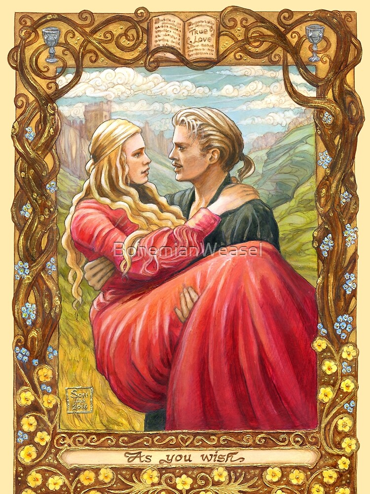Princess Bride by BohemianWeasel