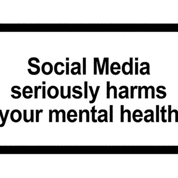 Social Media Seriously Harms Your Mental Health by ben-wut