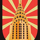 New York City Art Deco Building by scooterbaby