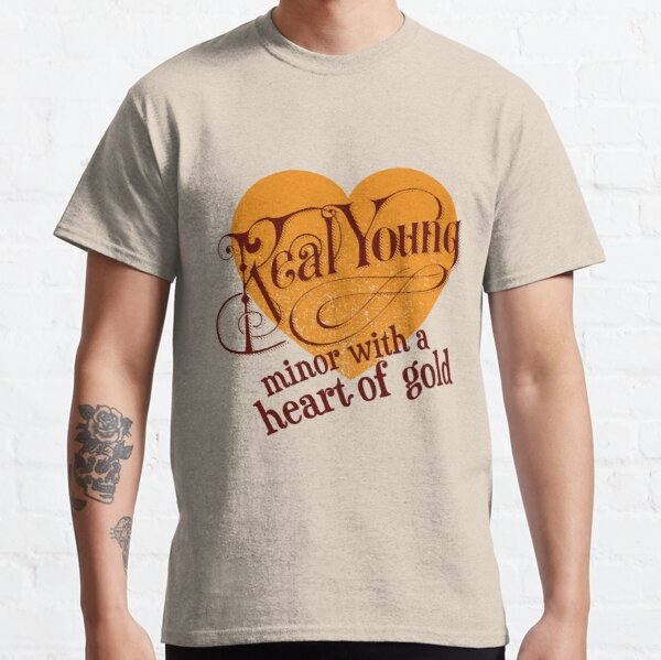 Real Young Minor with a Heart of Gold by lilterra.com Classic T-Shirt