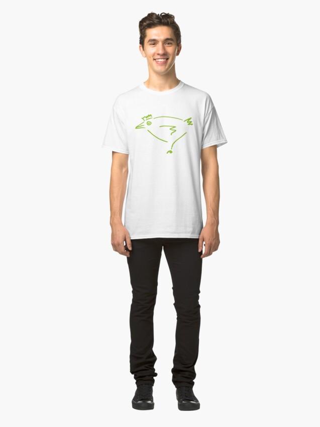 Alternate view of The Secret Chicken Classic T-Shirt