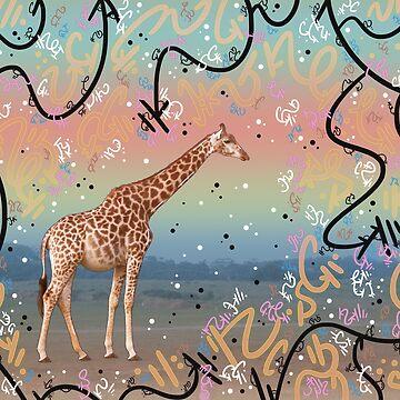 Great Little Giraffe by vanillakirsty