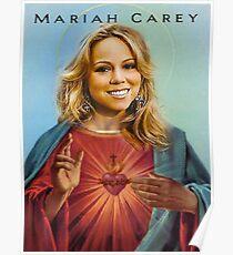 Saint Mariah Carey Poster