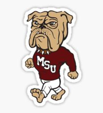 Mississippi State - MSU Bully Sticker