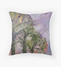 Broughton Street, Stormy Morning Throw Pillow