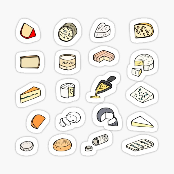 Fromage Sticker