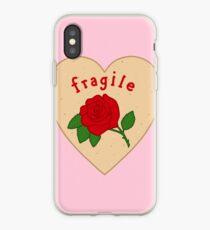 Fragile Mazapan Heart PINK iPhone Case