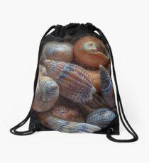 Netted dog whelks Drawstring Bag