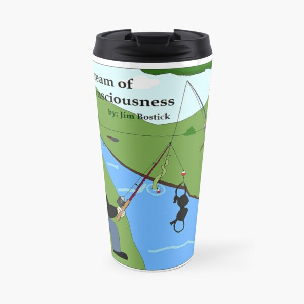 Stream of Consciousness Comic Travel Mug