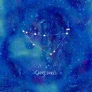 Constellation Capricornus by ShaMiLaB