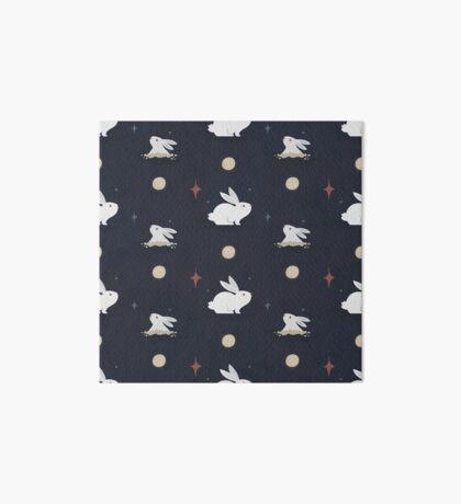 Bunnies on the Moon Art Board Print