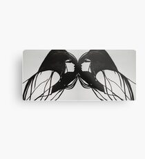ORGASM Metal Print