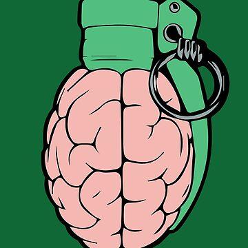 brain grenade by Lips1993