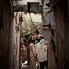 Narrow alleyway in Dubai by Cvail73