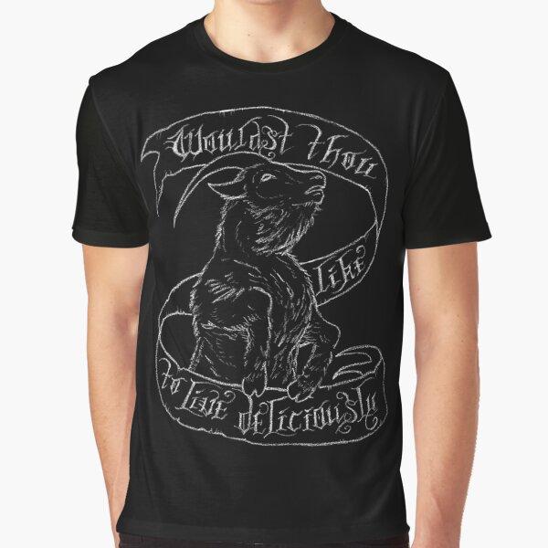 Black Phillip Graphic T-Shirt