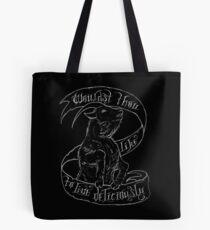 Black Phillip Tote Bag