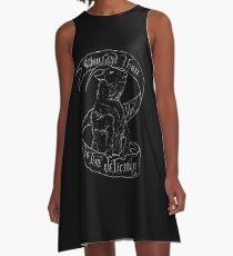 Black Phillip A-Line Dress