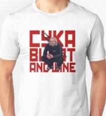 Cyka Blyat & Wine Unisex T-Shirt