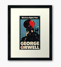 1984 Penguin Book Cover  Framed Print