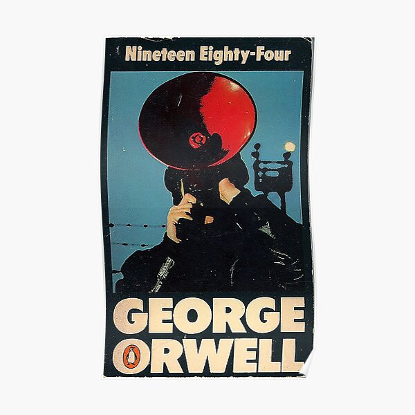 1984 Penguin Book Cover  Poster