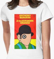 A Clockwork Orange Penguin cover Women's Fitted T-Shirt