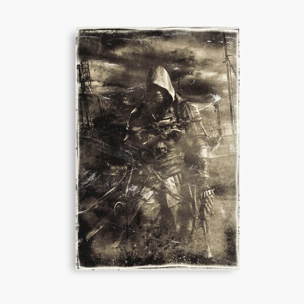 Old Pirate Canvas Print