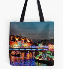 Colour River Tote Bag