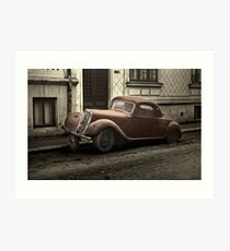Car: A Portrait Art Print