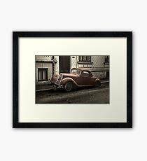 Car: A Portrait Framed Print